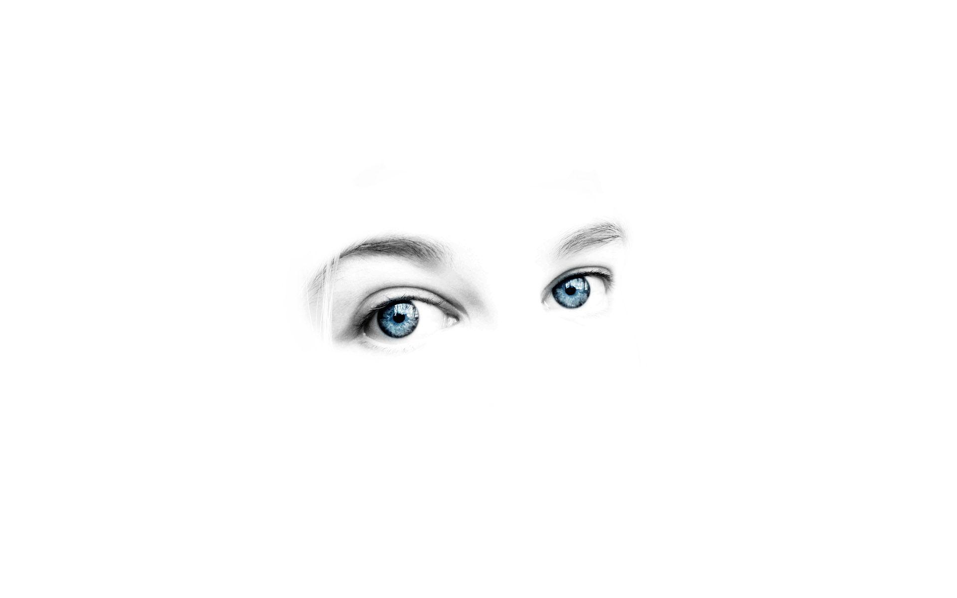 Full Hd White Wallpaper Desktop Eyes Wallpaper White Background