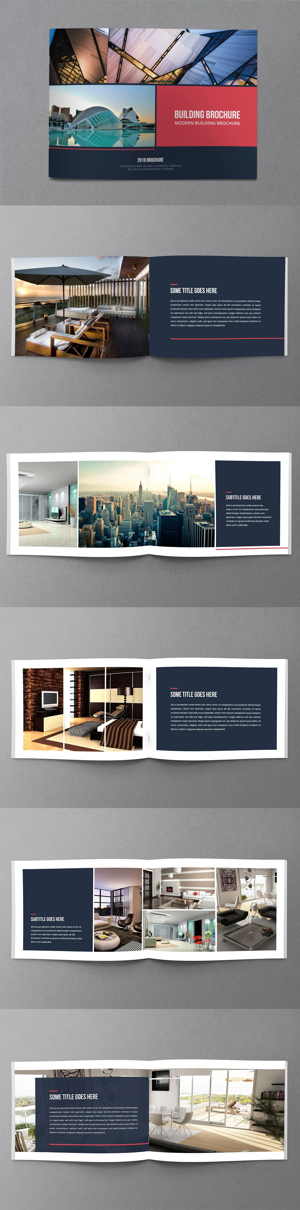 Multipurpose Corporate Brochure Template InDesign INDD | BROCHERS ...