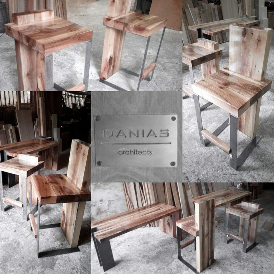 Wood & Steel  www.daniasarchitects.gr