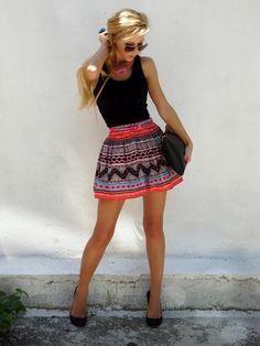 Que bonita falda