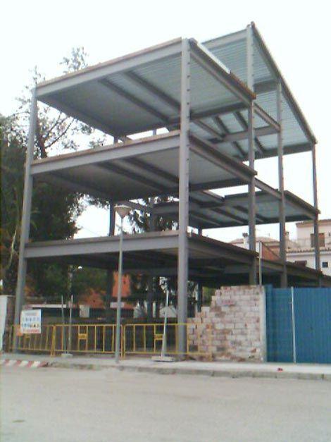 Estructuras met licas para viviendas estructuras pinterest - Estructura metalica vivienda ...