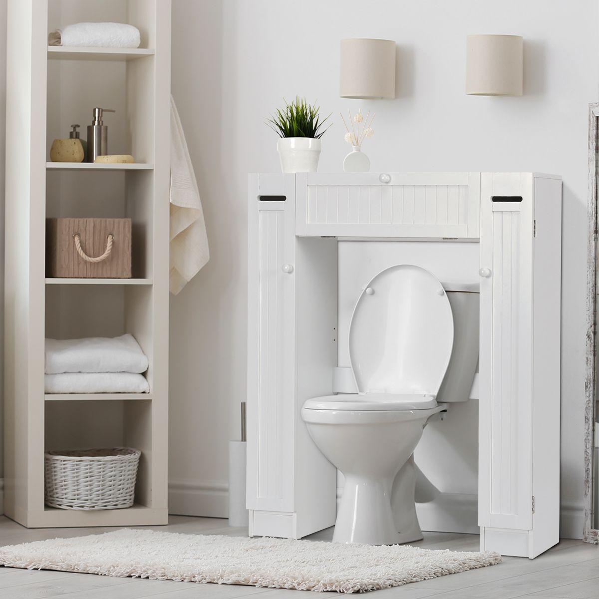 Mobile Bagno Per Asciugamani scaffale sopra il wc mobile mensola da bagno salvaspazio in