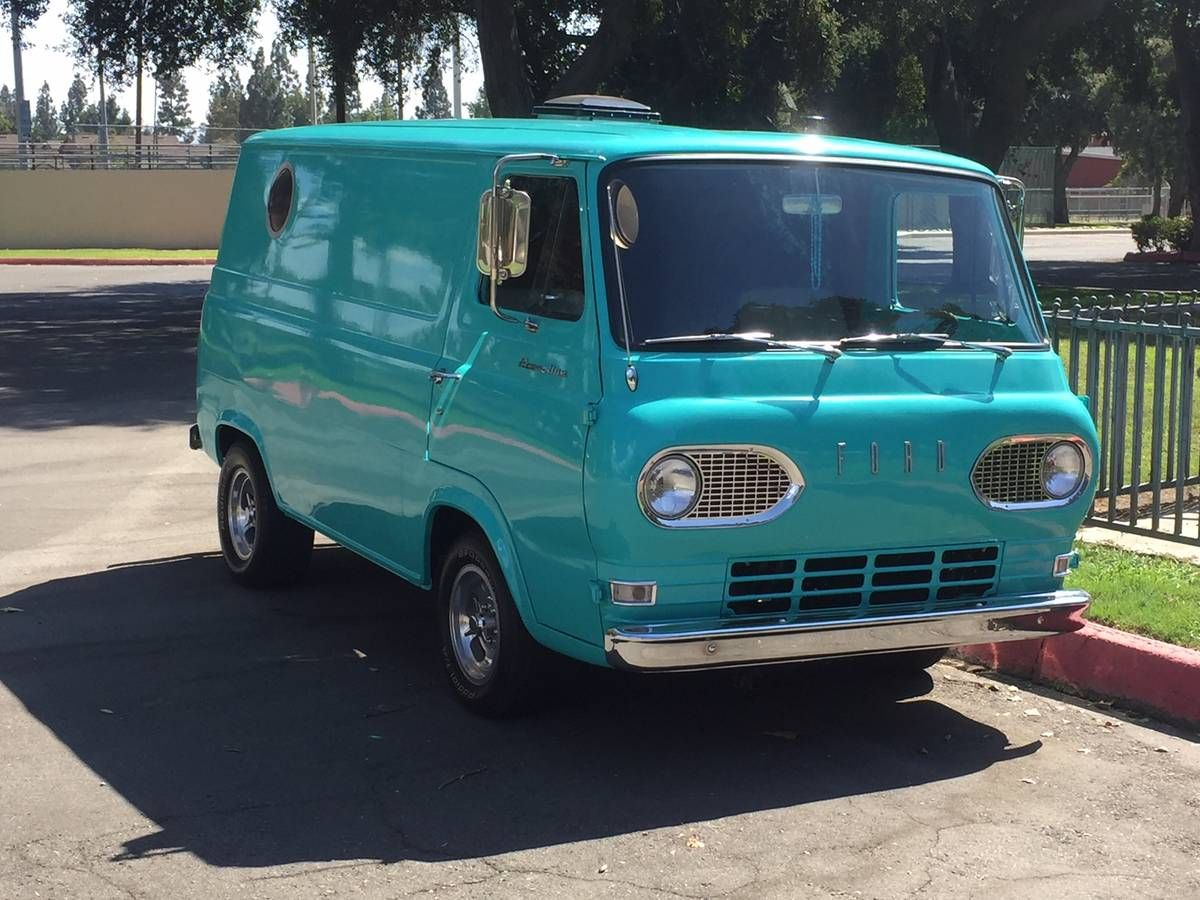 1965 Ford Econoline Panel Van Cars Trucks By Owner Vehicle