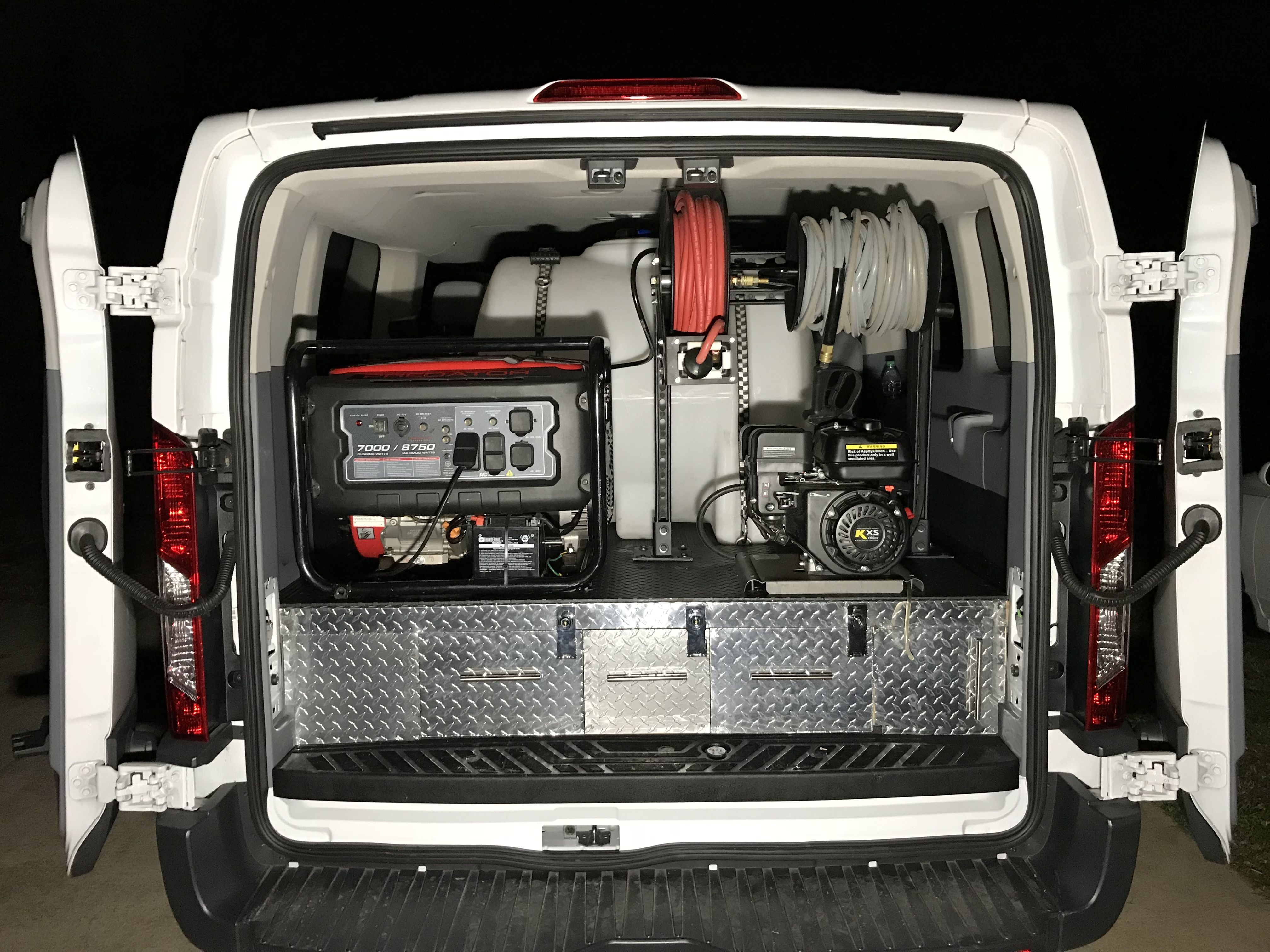 Ralda's Auto Detailing set up Car wash business, Mobile