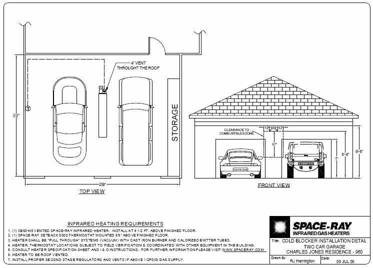 Related image | Layout, Infrared heater, Two car garage