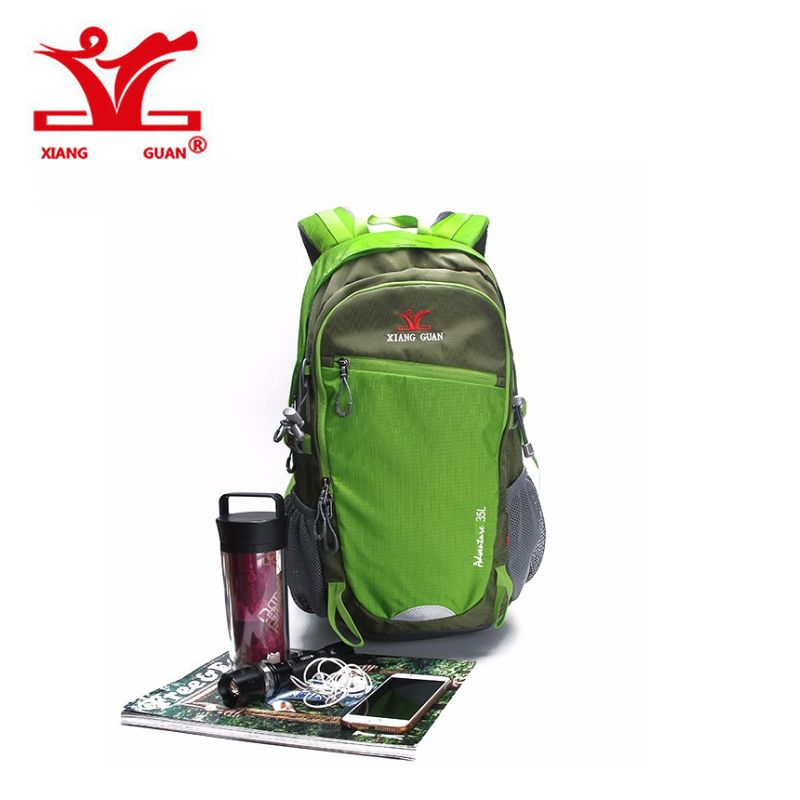 2017 XIANGGUAN Outdoor Backpack sports bag Hiking Cycling Climbing 35L  Lightweight Waterproof Travel Load Knapsack Rucksack d453a4db61