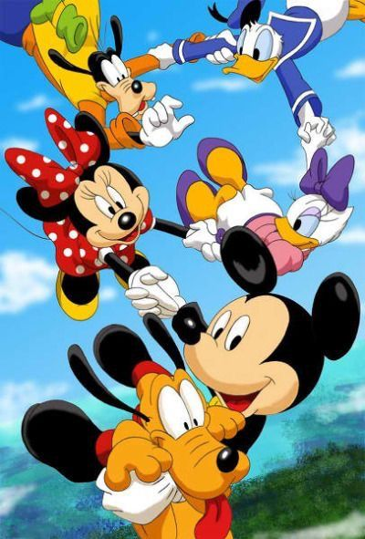 Pin by Jan Balestriere on Mickey & Minnie Mouse (With ...