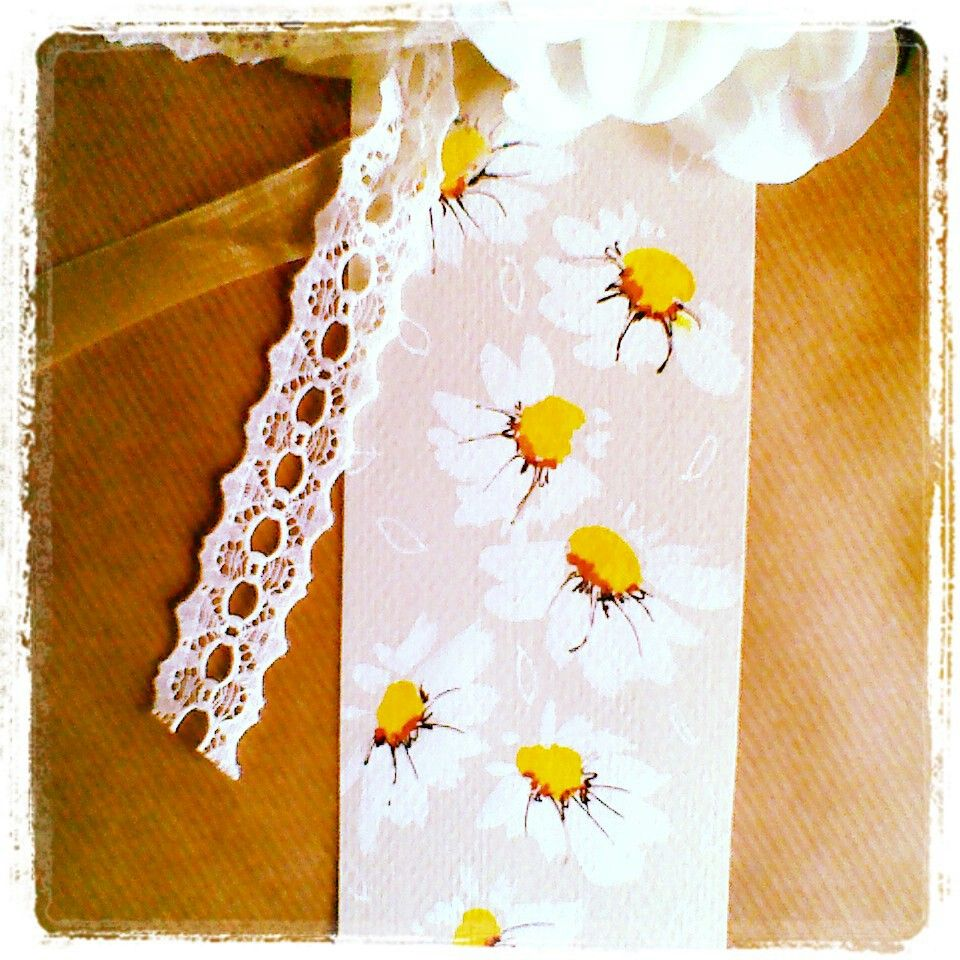 Watercolor bookmark patterns - Daisy Watercolour Hand Painted Bookmark Floral Design Pattern