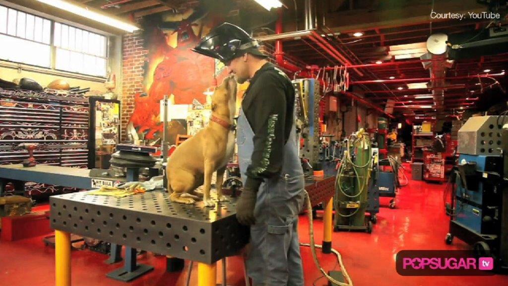 Jesse James Garage shop, West coast choppers jesse james