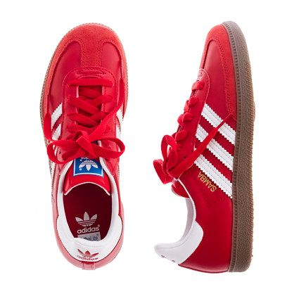 5a8093f2bdc6 Boys  Adidas® for crewcuts red Samba® sneakers