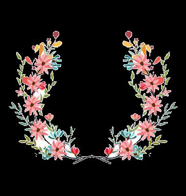 Pin De Rahma Latifa Em Gift Cards Estampas Frame Floral Letras Com Flores