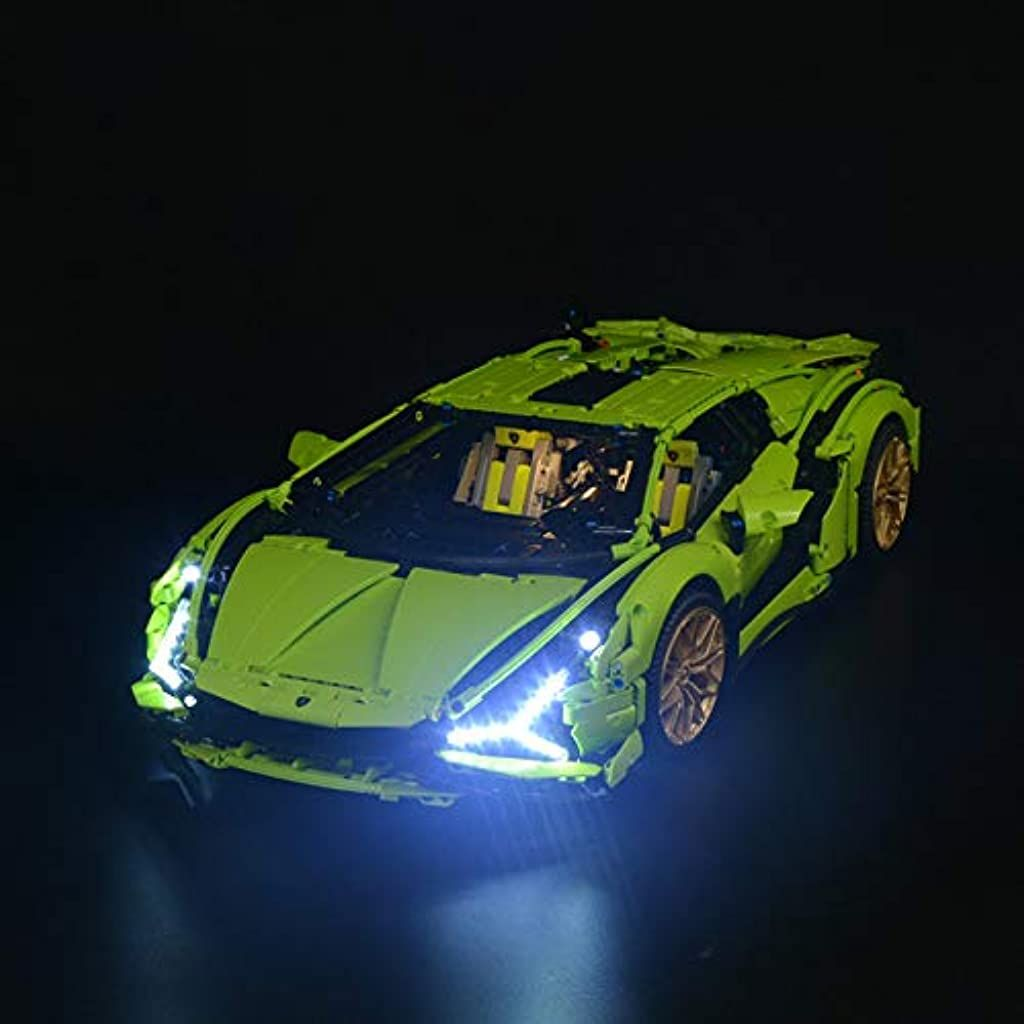 Pexl Beleuchtung Licht Set Fur Lego Technik Lamborghini Sian Fkp 37 Led Beleuchtungsset Kompatibel Mit Lego Technic 42115 In 2020 Lego Technic Lamborghini Lego Technik