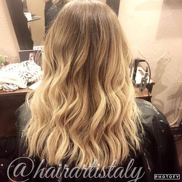 Natural Blonde Balayage Long Layered Haircut Hair By Aly Tompkins
