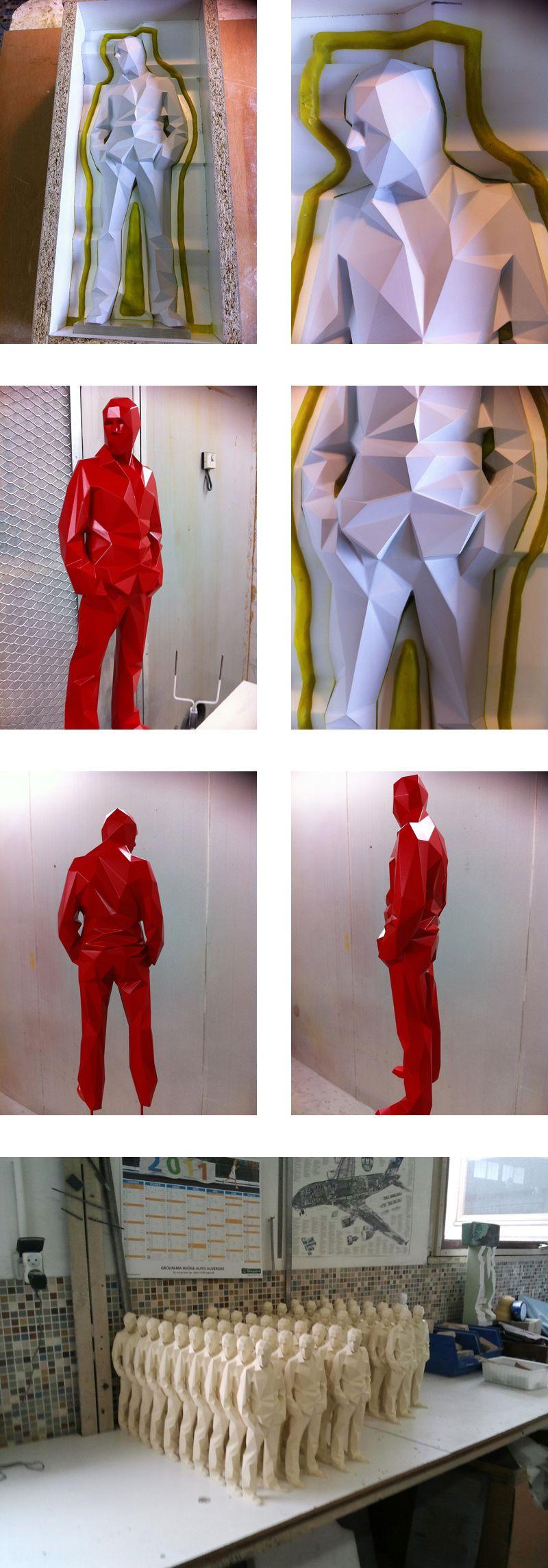 Poly Sculptures In Process #3dprintedsculpture 3d Printed Sculpture Art