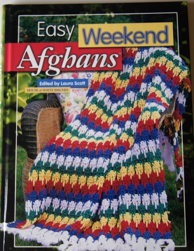 Details About All American Crochet Afghans 60 Patterns Light Throws
