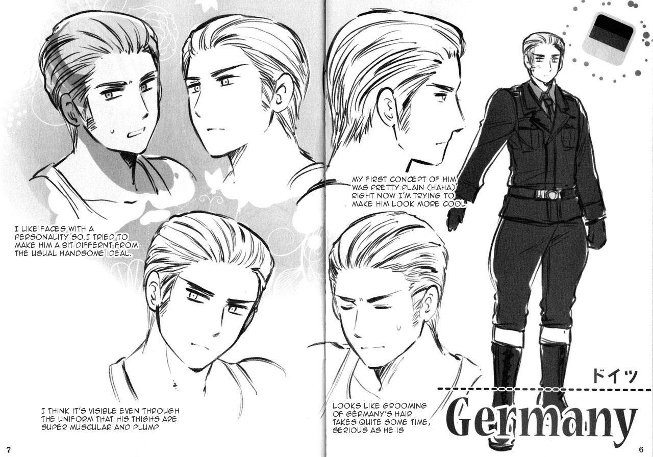 germany hetalia omg the artist even gave him typical