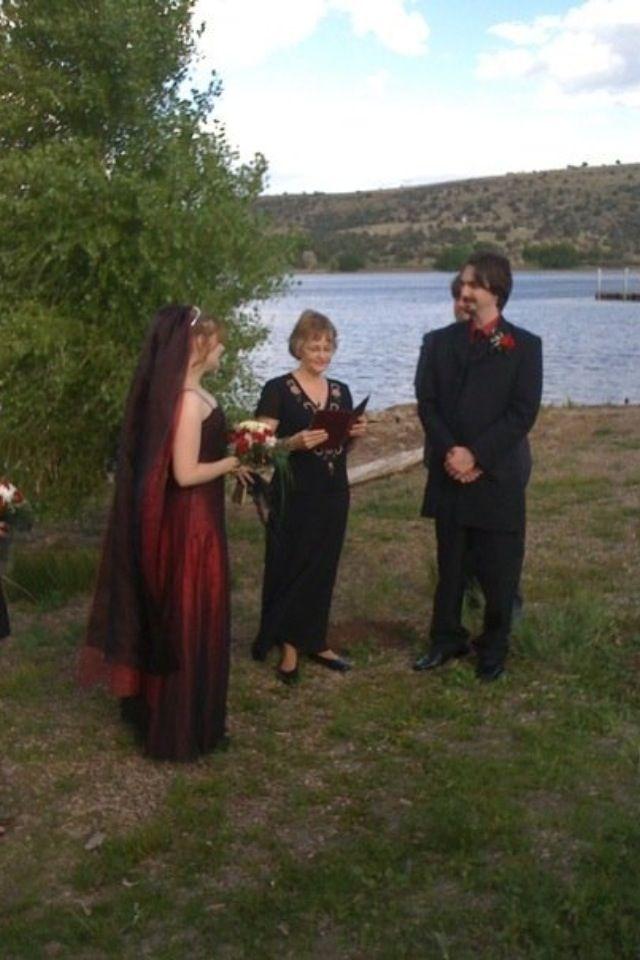 My red wedding dress