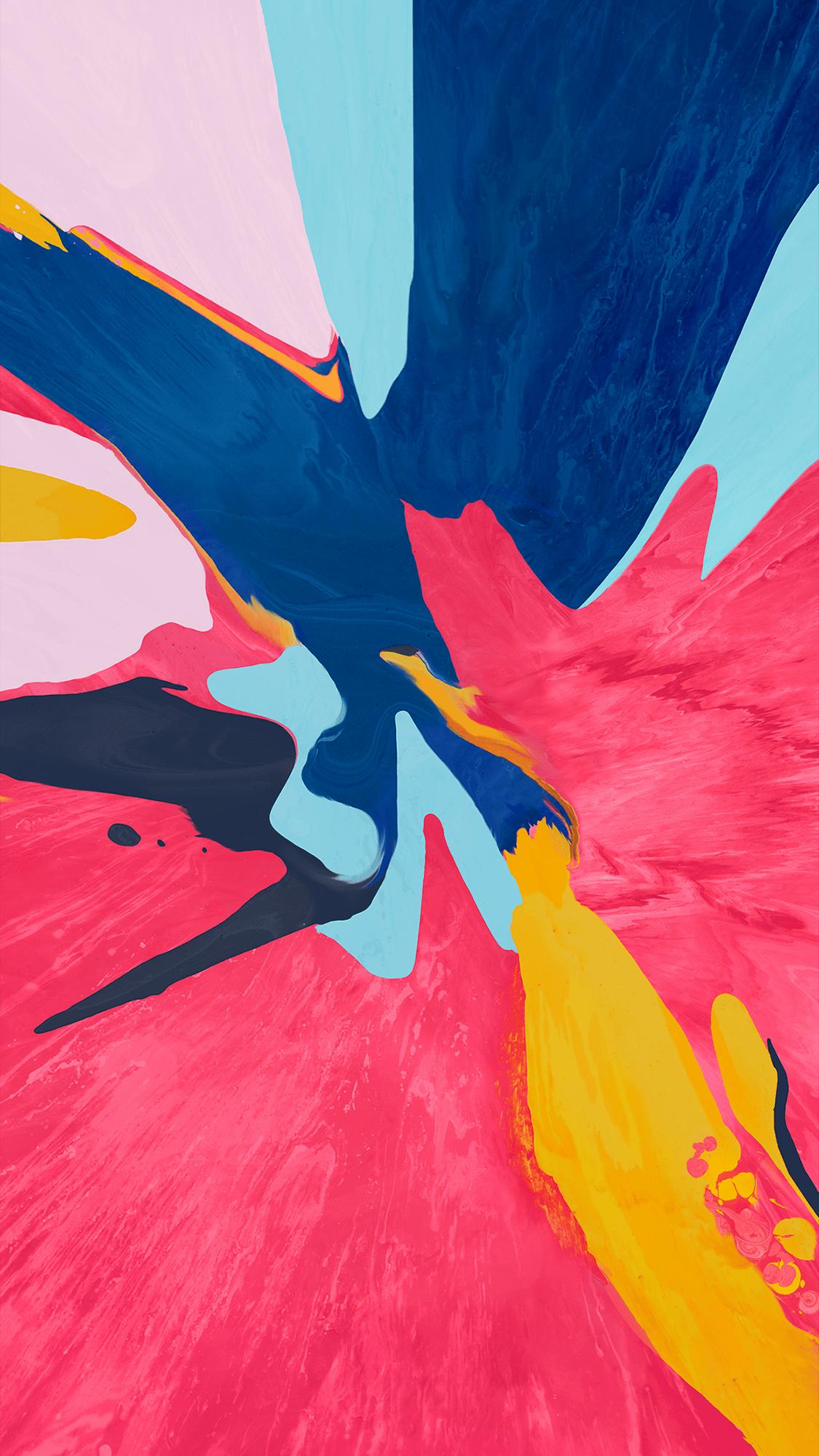 Abstract Splash Colorfull Wallpaper Iphone Fondos De Pantalla Papel Tapiz Abstracto