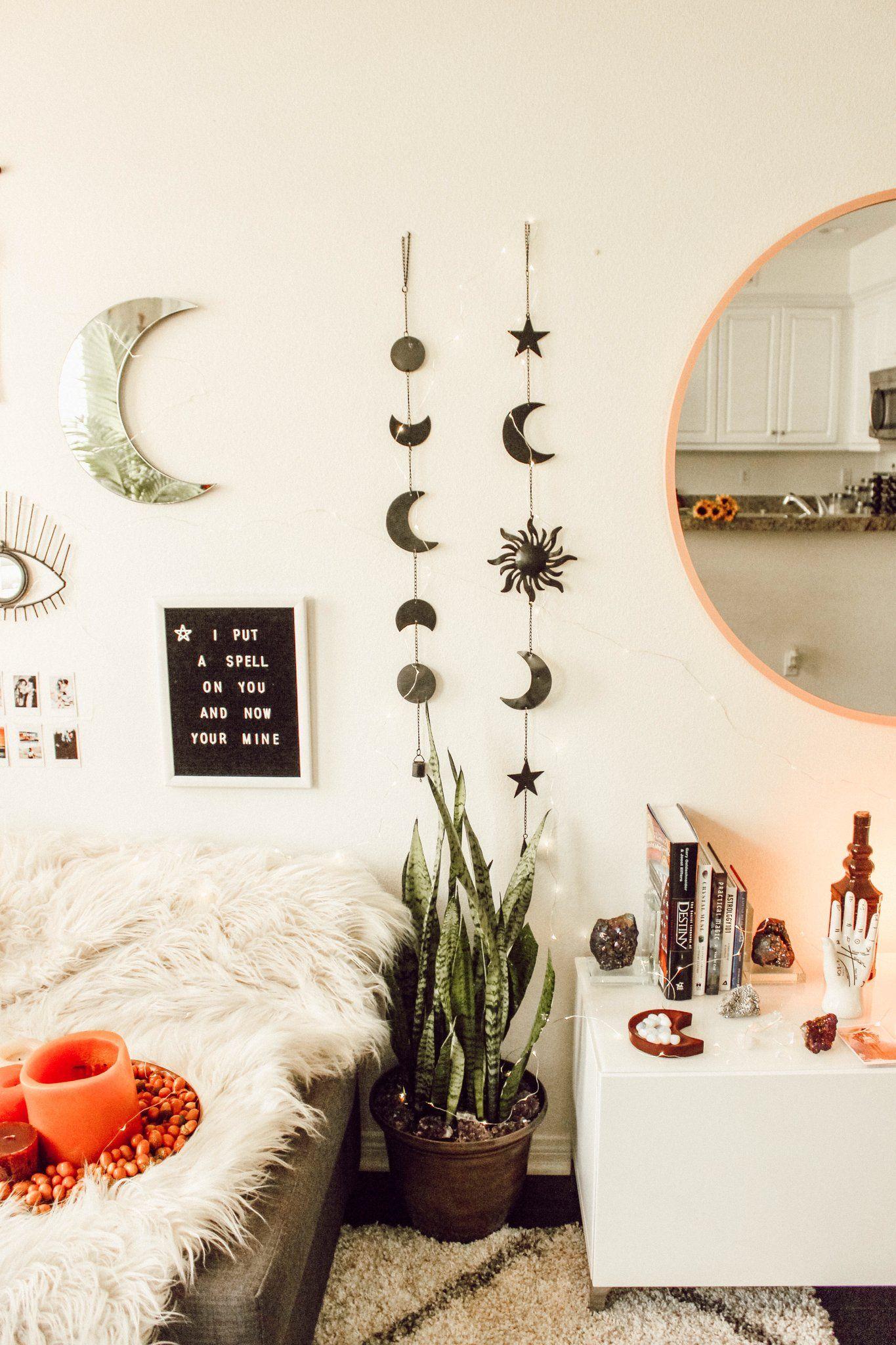 Celestial Wall Hanging Cute Room Decor Bedroom Vintage Bedroom Decor