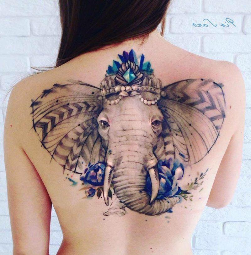 elefanten tattoo symbole und bedeutungen tattoo pinterest elefanten tattoo ideen und. Black Bedroom Furniture Sets. Home Design Ideas