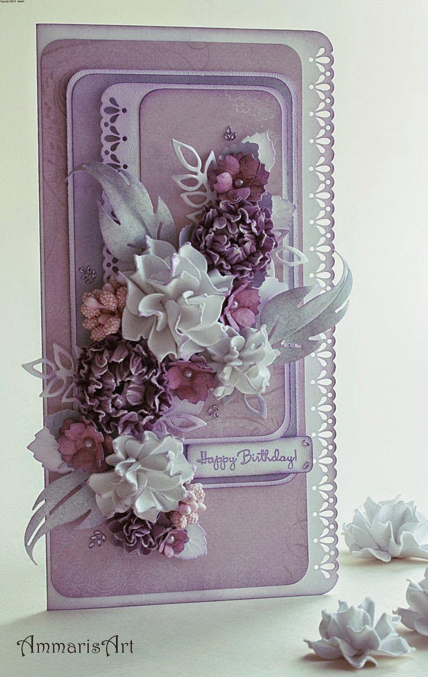 pastel card  handmade  hand made  homemade