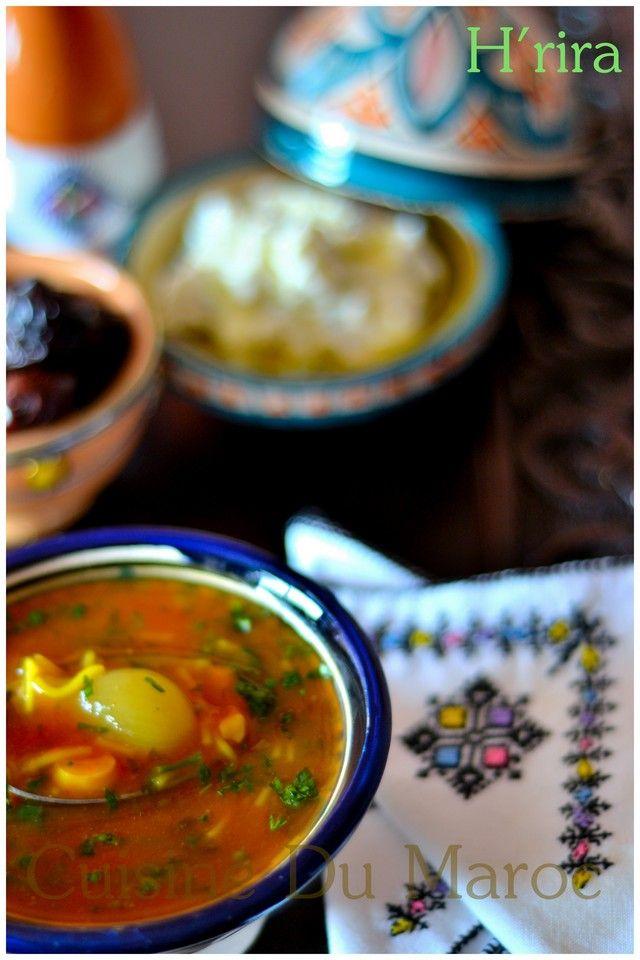 Harira... Moroccan soup