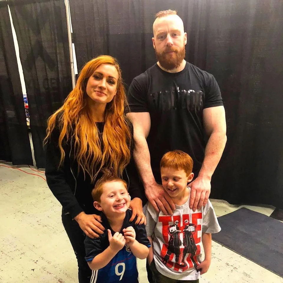 Becky And Sheamus Got Kids Lasskicker In 2021 Sheamus Wrestling Divas Becky