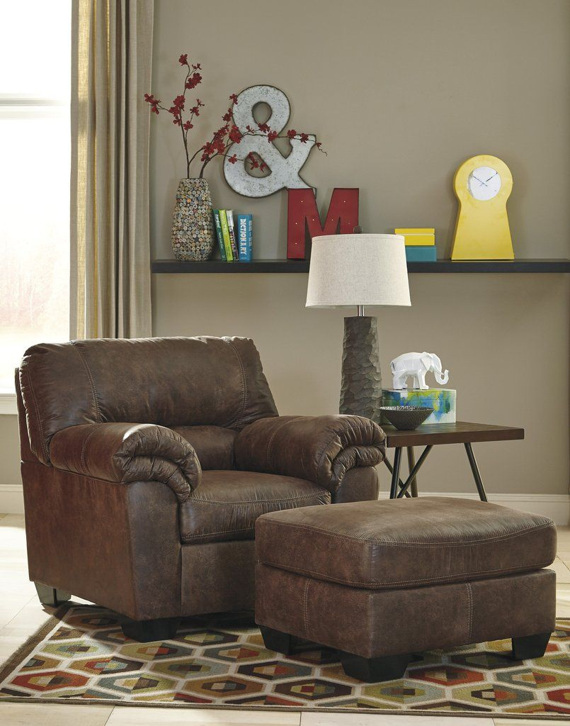 Phenomenal Bladen Contemporary Coffee Color Faux Leather Chair With Beatyapartments Chair Design Images Beatyapartmentscom