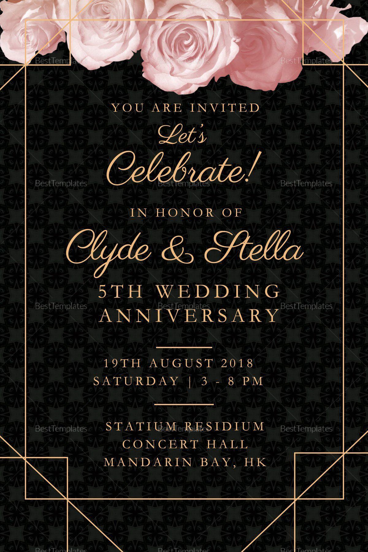 Wedding Anniversary Invitation Template Awesome Elegant Wedding Wedding Anniversary Invitations Modern Wedding Invitation Wording Wedding Invitation Templates