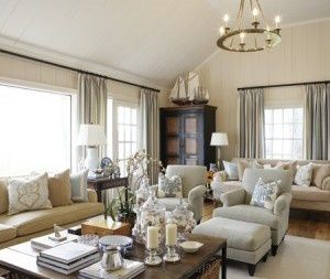 Casual Elegant Living Room Furniture Pottery Barn Decorating Ideas Marina Style Pinterest