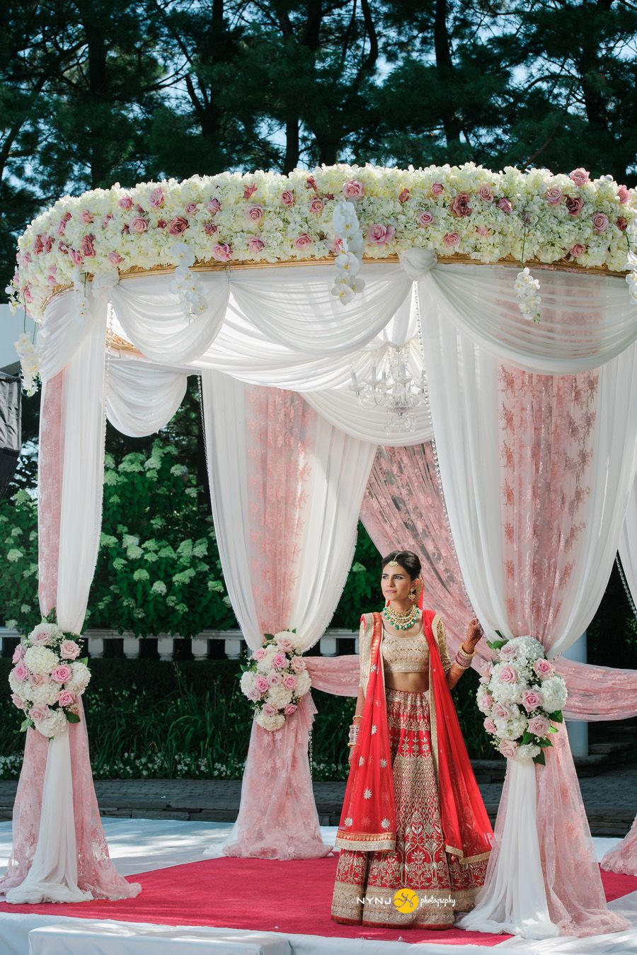 Indian Wedding In Addison Park Nj Indian Wedding Decorations Wedding Design Decoration Wedding Stage Decorations