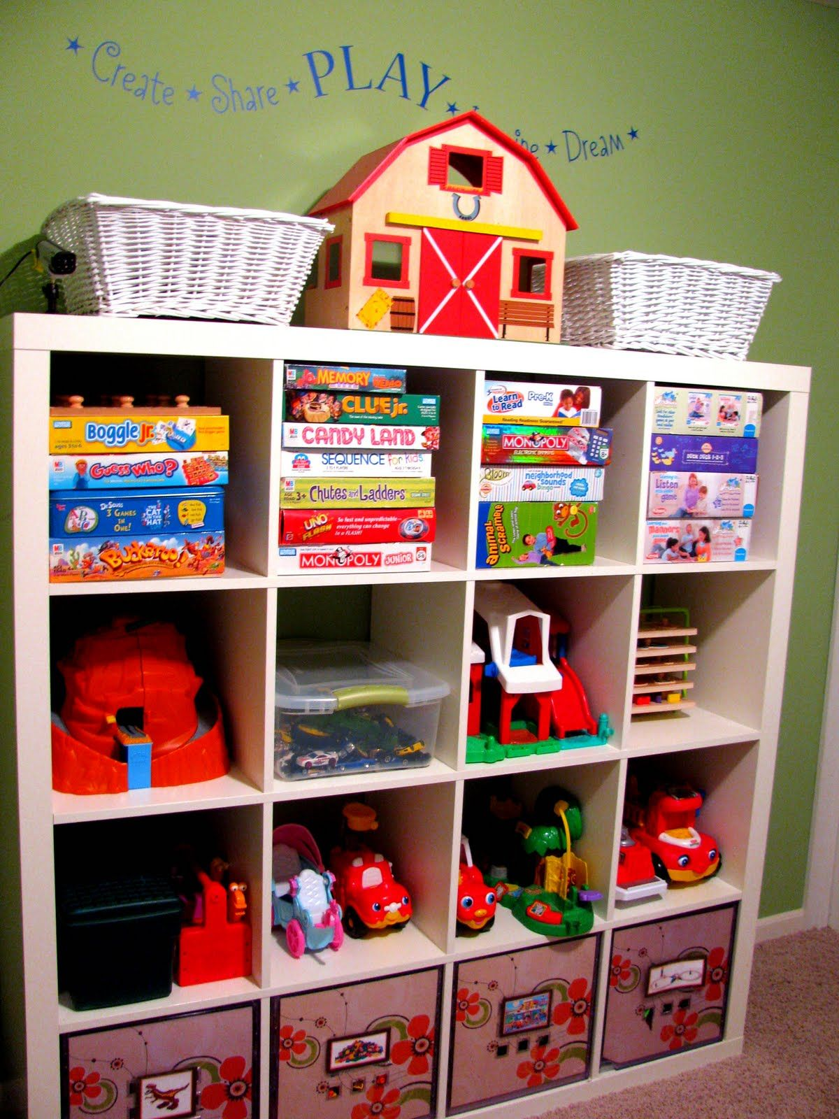 iheart organizing march featured space kids perfect play haven play room idea for the boys - Kids Room Storage Bins