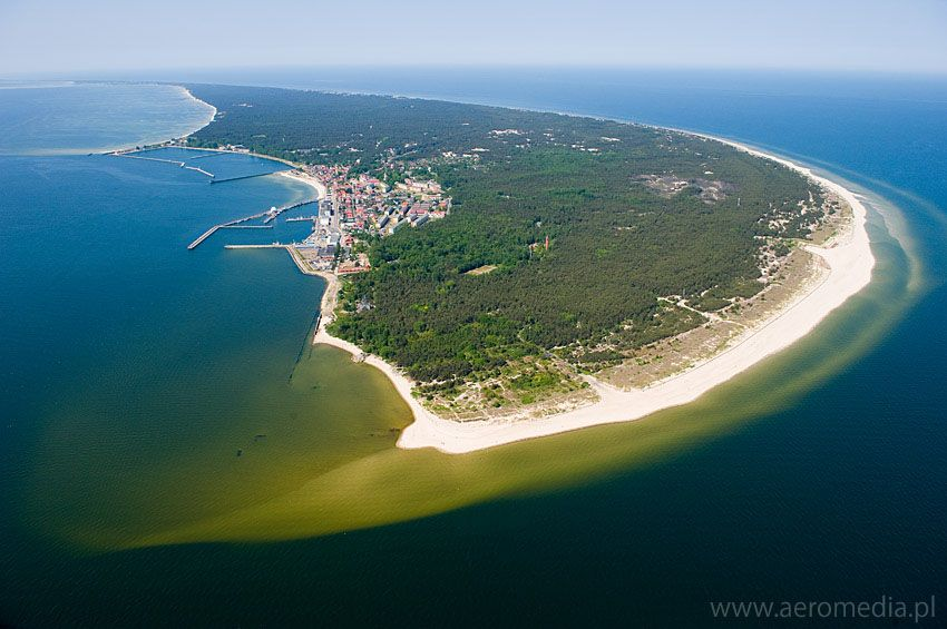 hel peninsula poland the north most tip of poland where the