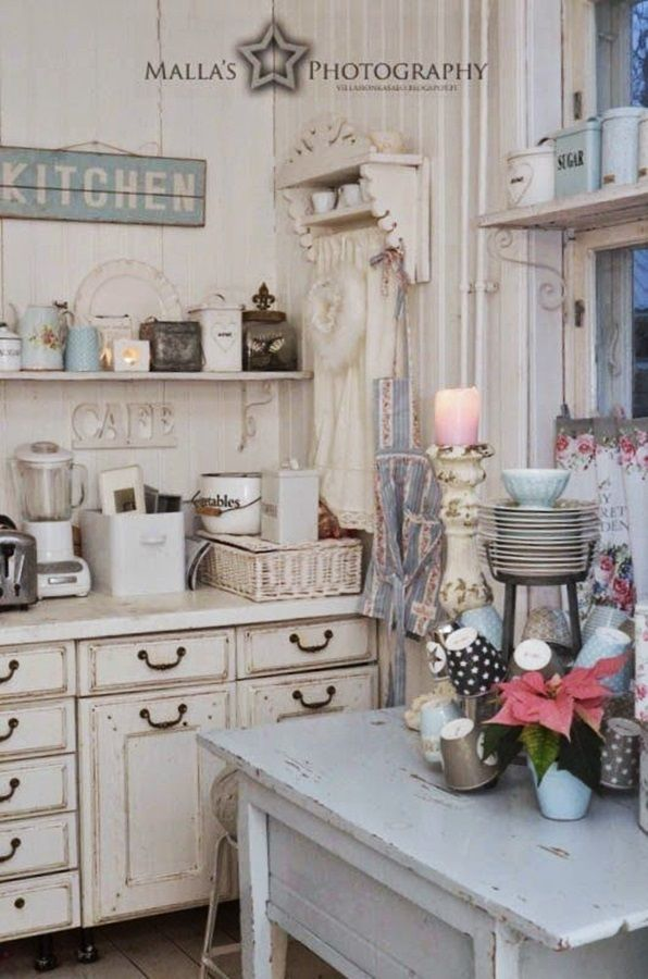 Pin by Ute Söhnlein on Küche Pinterest Villas and Shabby - shabby chic küche