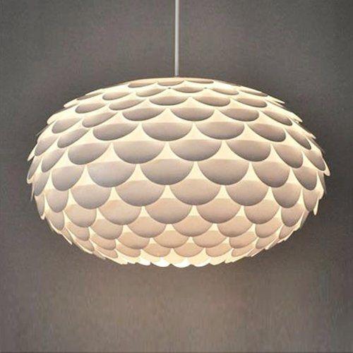 Modern Designer White Armadillo / Artichoke Ceiling Pendant Light Shade Amazon.co.uk & Modern Designer White Armadillo / Artichoke Ceiling Pendant Light ... azcodes.com