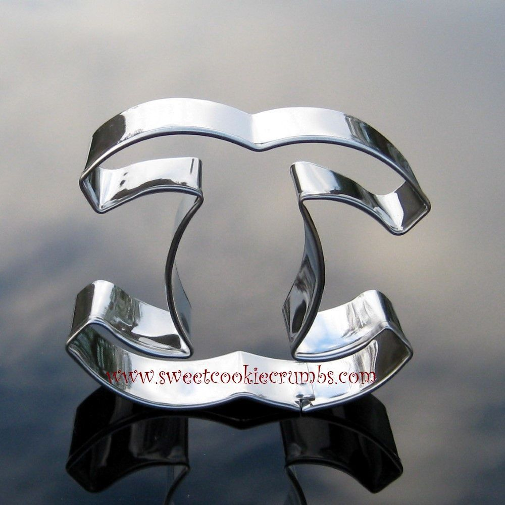 Chanel Cookie Cutter- Stainless Steel