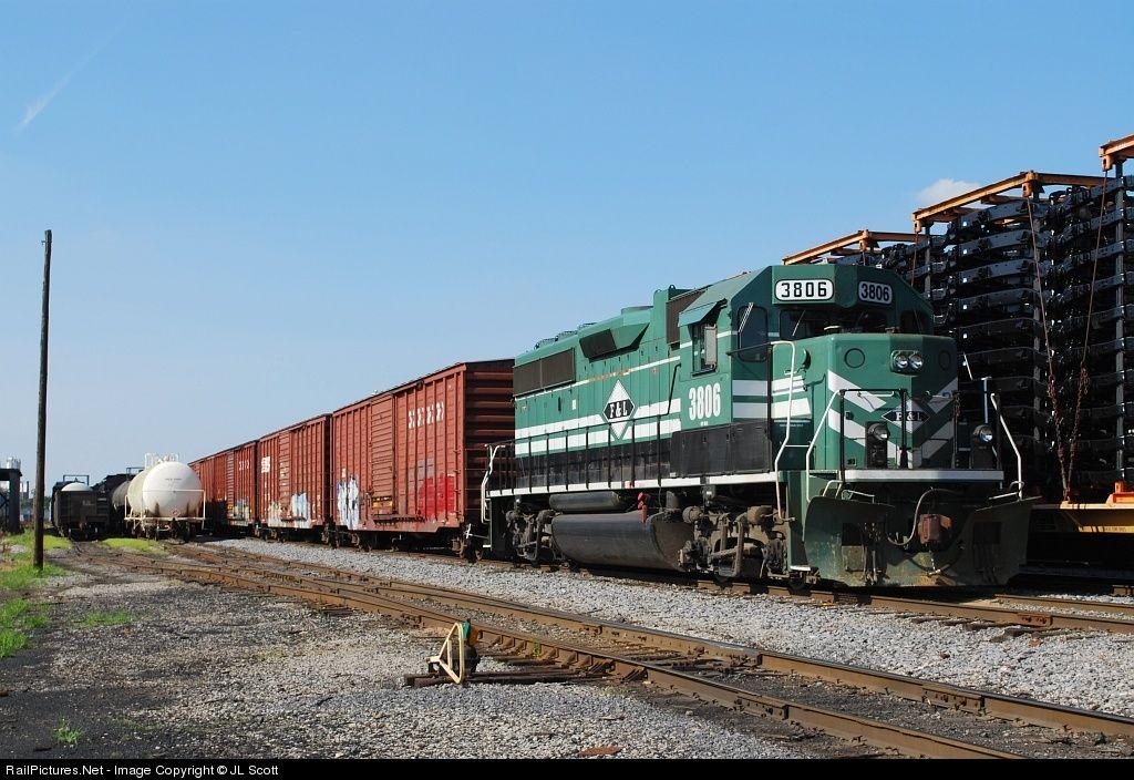RailPictures.Net Photo: PAL 3806 Paducah & Louisville Railroad EMD GP38-2 at Louisville, Kentucky by JL Scott
