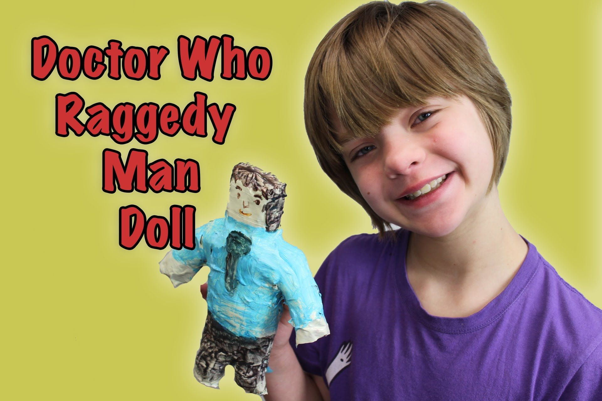 f26968bb682 How to make Amy Pond s Raggedy Man Doll from Doctor Who- Craft Monday- D..