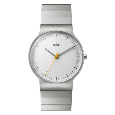 Braun BN0211SLBTG Gents Classic Slim Stainless Steel Watch - Trouva