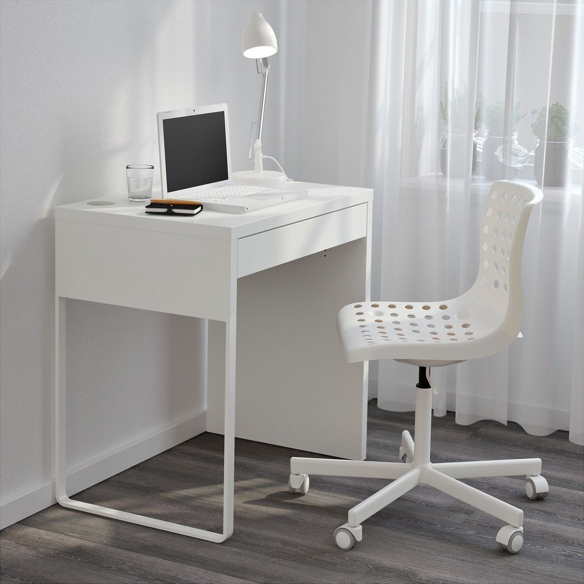 Small White Desk Computer Desk Ideas Pinterest Desk Diy