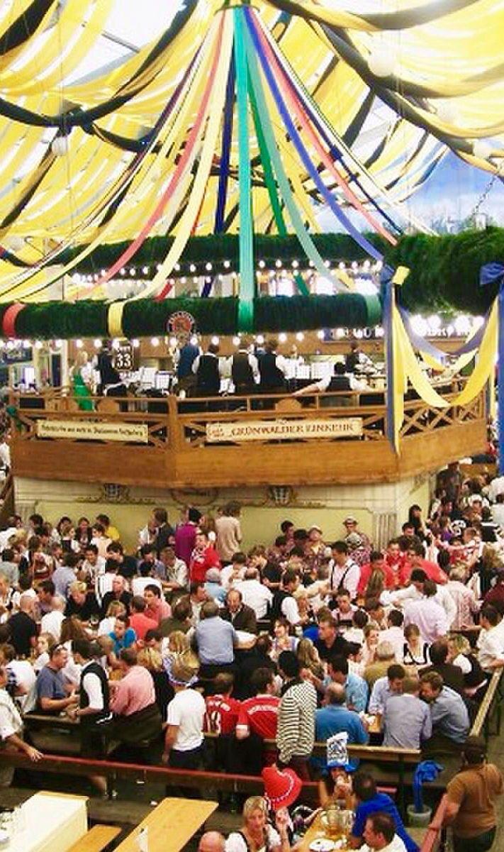 Oktoberfest Paulaner tent - MunichGermany & Oktoberfest Paulaner tent - MunichGermany | Oktoberfest ...