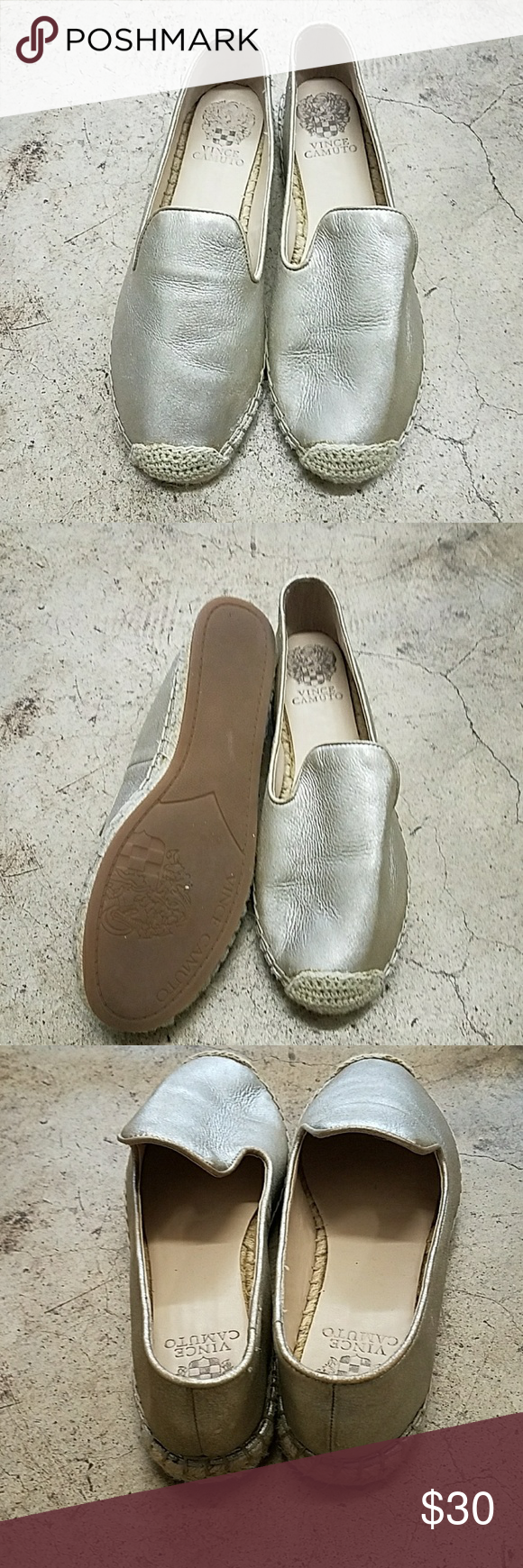 Vince Camuto flats Worn only a gew times. Great condition. Vince Camuto Shoes Flats & Loafers