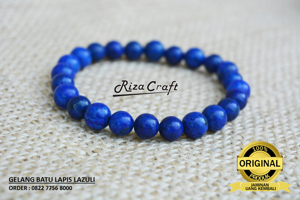 Gelang Batu Lapis Lazuli Asli 100 Warna Biru Natural Ukuran Butiran 10 Mm Yang Cocok Dipakai Pria Dan Wanita Order Sms Wa 0822 Lapis Lazuli Gelang Produk