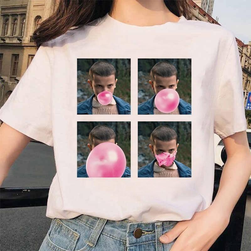 Stranger Things 3 Funny Printed T-shirt, 1029 / M