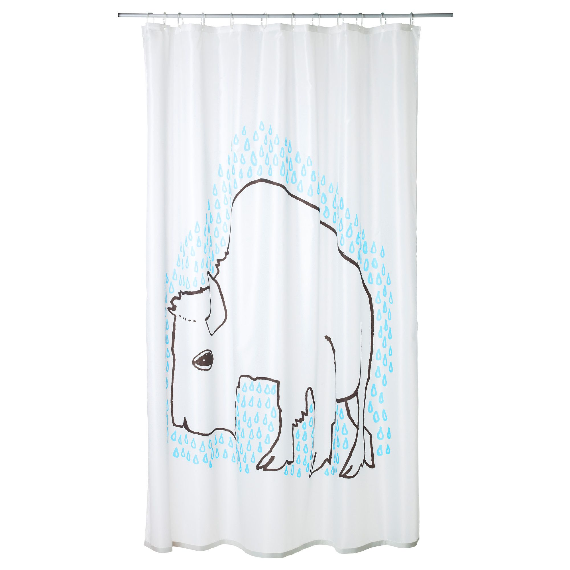 rideau turquoise ikea great ikea hugad curtain rod window the corners can be adjusted to fit. Black Bedroom Furniture Sets. Home Design Ideas