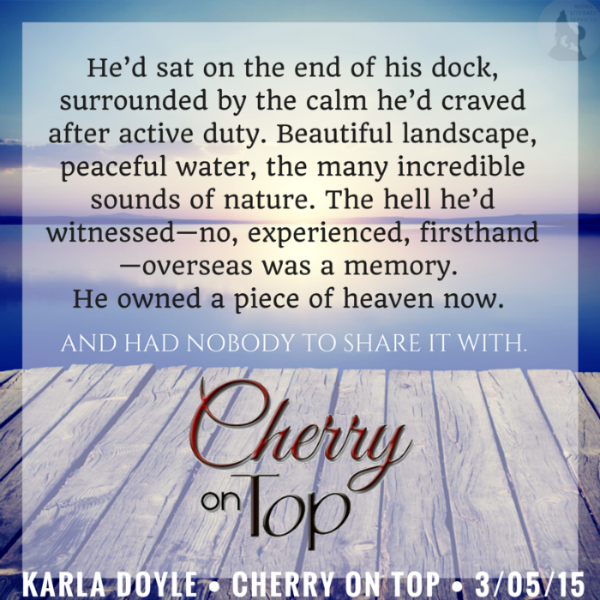 ✵ New Karla Doyle event sign up!  Cherry on Top cover reveal and release event sign up is open now! ✵ http://bit.ly/Cherrysignup