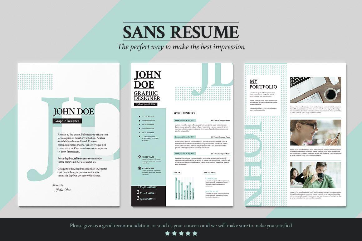portfolio cover pages templates