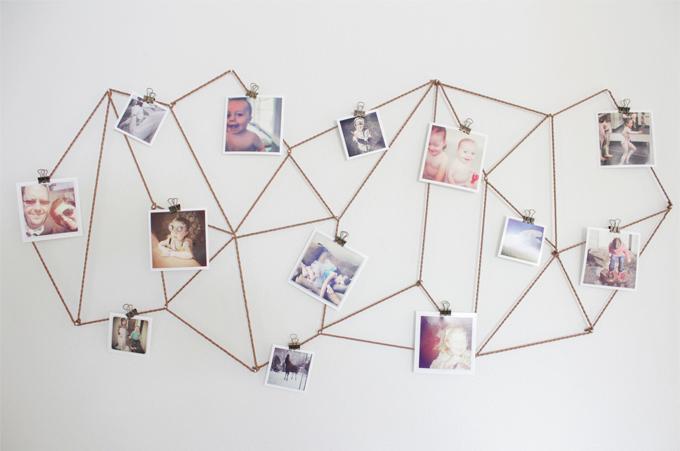 Fotos Ophangen Zonder Lijst.6 Creatieve Ideeen Voor Het Ophangen Van Foto S En Prints