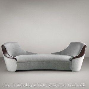 Promemoria Chaiseg Chaise Lounge Sofa Chaise Lounge Indoor