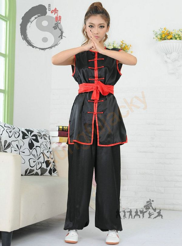Chinese traditional wushu martial arts uniform~kung fu suit for kids and adults Mens or womens both are suitable $24.99
